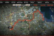 Cycling Route ANZAC Day 2012