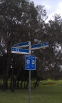 Could you work out which way to go from this signpost?