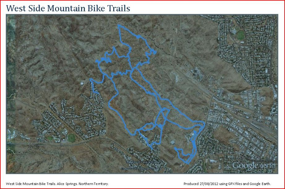 Mountain Bike Trails of Alice Springs