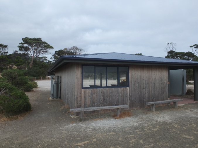 Browns Beach cooking shelter