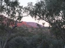 Mt Sonder at Sunset