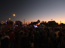 Lots of people at the Broome Festival