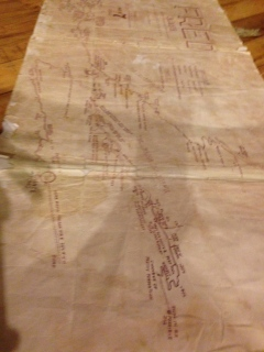 Old cave maps stored in the cave house. So cool! So much caving to do in NZ I'll have to do another trip!