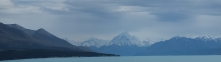 Mt Cook and Lake Tekapo (I think)