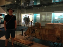 One of the original motorised sleds taken to the Antarctic. Such an amazing piece of history to behold.