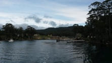 Port Arthur from the bay.