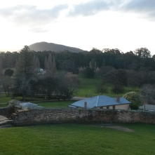 Looking down on Port Arthur, it is hard to believe this was a convict station.