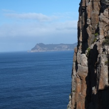 I really did mean tall! They aren't the tallest sea cliffs in the world without reason.