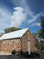 1850s church built by the early settlers in region.