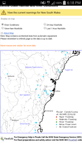 Rain Since 9am Source: BOM