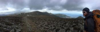 Up on the ridge!